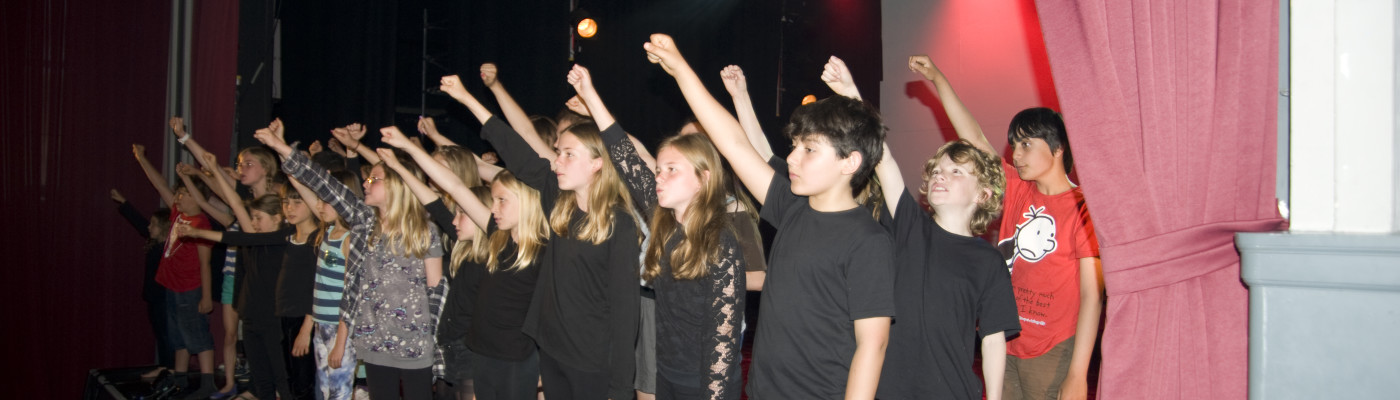 The philosophy is fab, give young people the opportunity to create theatre and then see just how brilliant they can be!